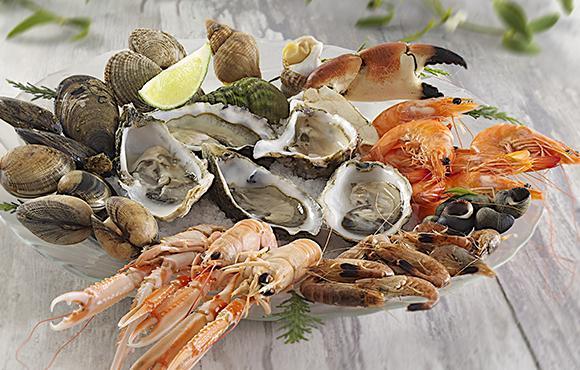 vente plateau fruits de mer
